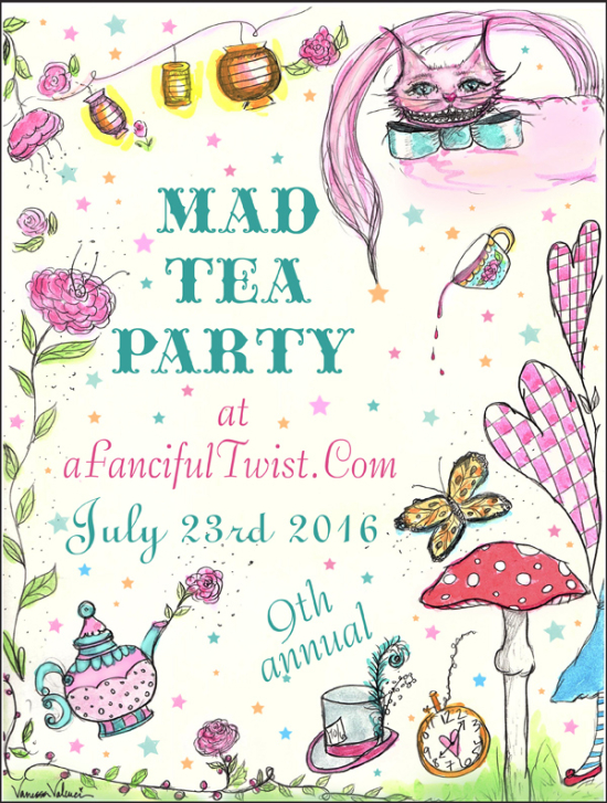 It's time for TEA! Let's all be mad and have a party!
