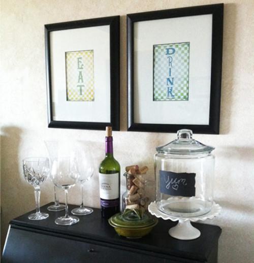 Eat Drink Art Prints by Moonsteam Design Studio