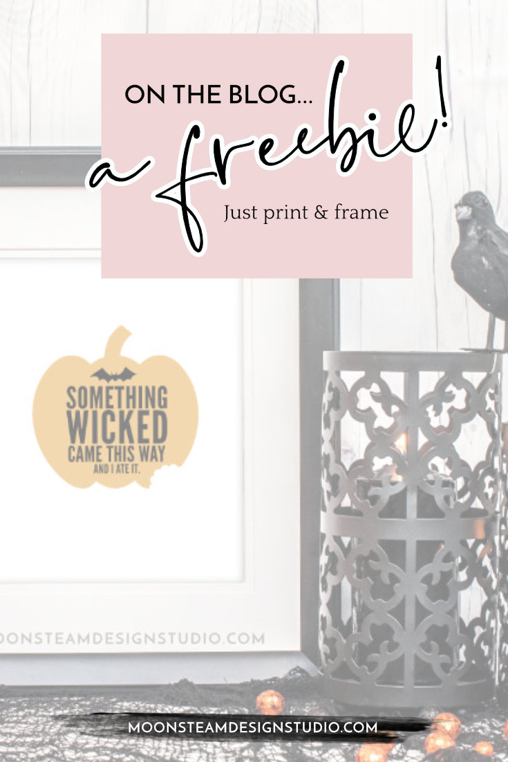 Halloween Freebie Something Wicked by Moonsteam Design Studio