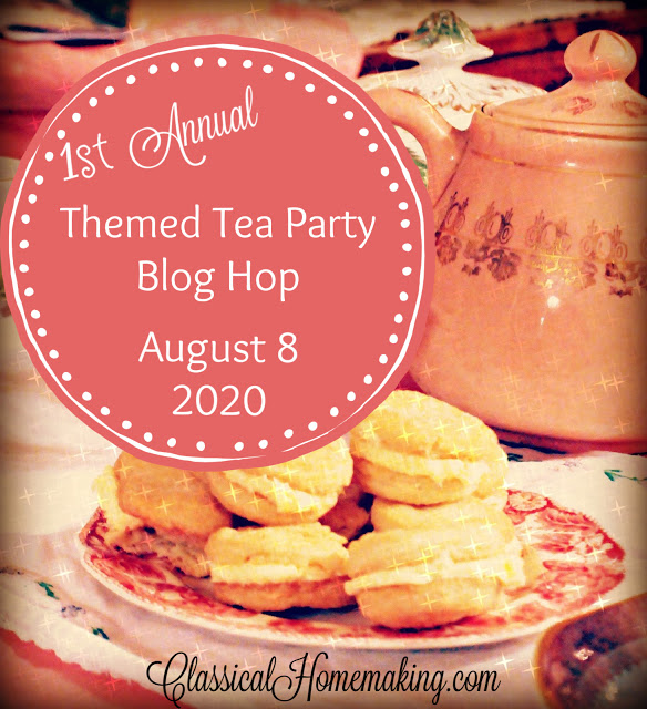 Don't be late! Musn't be late! …it's Tea Party time!